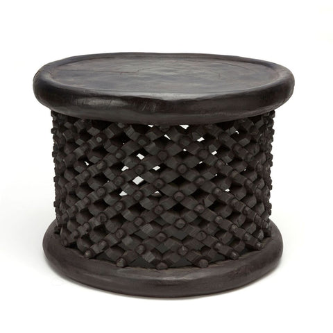 Bamileke Table Medium - Dark