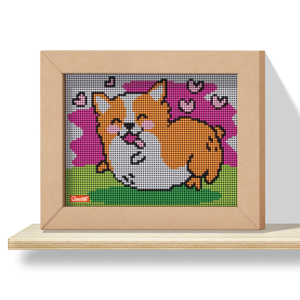 Pixel Art 4 Kawaii Design Corgi