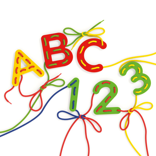 Lacing ABC+123   quercetti