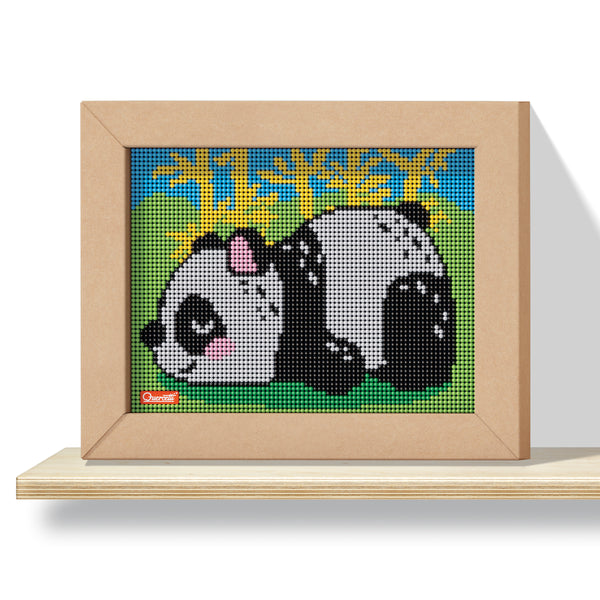 Pixel Art 4 Kawaii Design Panda