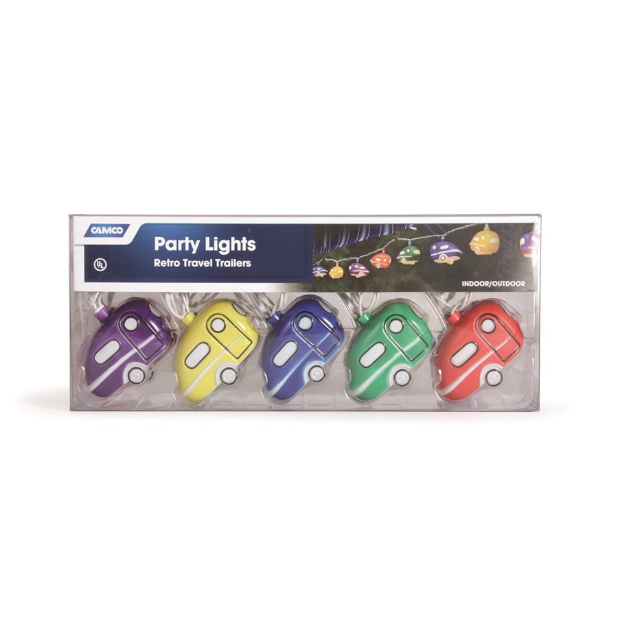 42655 Party Lights - Retro Travel Trailer*