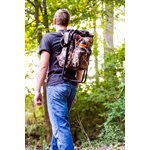 Camping Stool Backpack Cooler - Camouflage