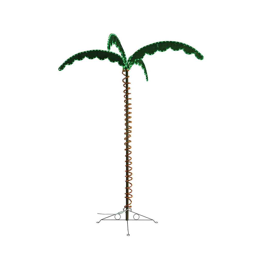 8080104 Decorative Palm Tree Rope Light 7.5ft