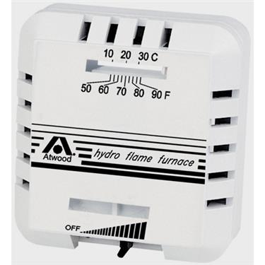 Atwood 38453 White thermostat
