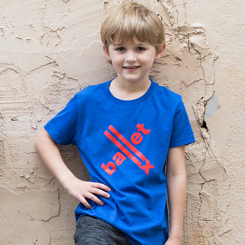Youth Tee in Blue
