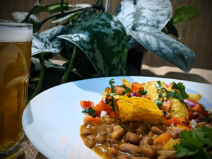 Vegan Recipe: Drunken Bean Chilli with Cloudwater Brewing Co.