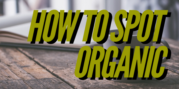 How do I know if something is organic food?