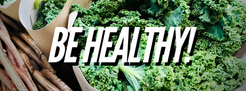 Leading a healthy lifestyle & healthy eating