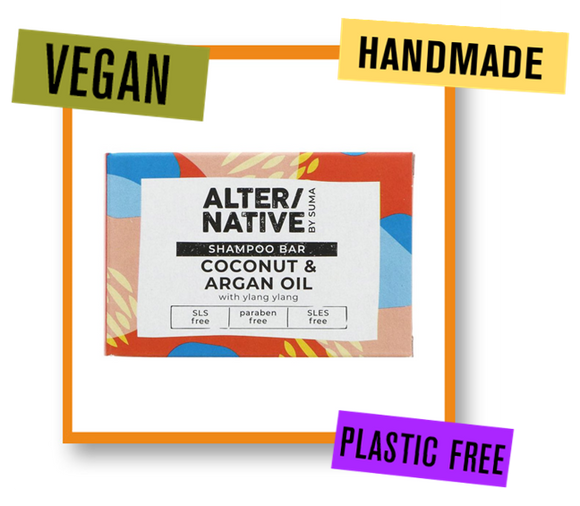 Alter/Native By Suma Coconut, Argan & Ylang Ylang Shampoo Bar