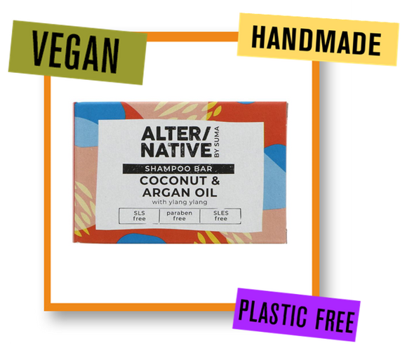 Alter/Native By Suma Coconut, Argan & Ylang Ylang Conditioner Bar