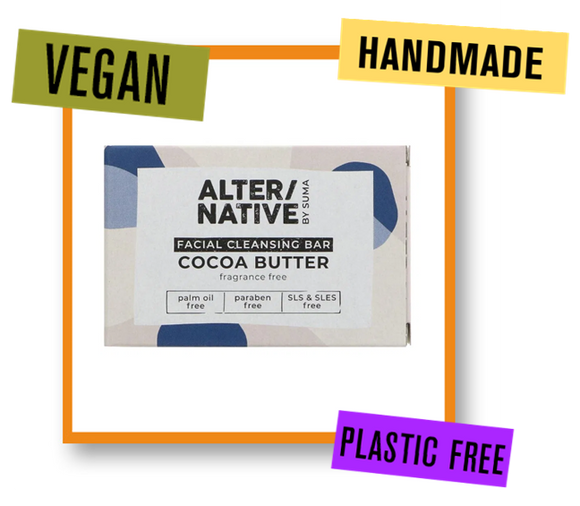 Alter/Native By Suma Cocoa Butter Facial Soap Bar
