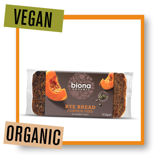 Biona Organic Rye Bread with Pumpkin Seed