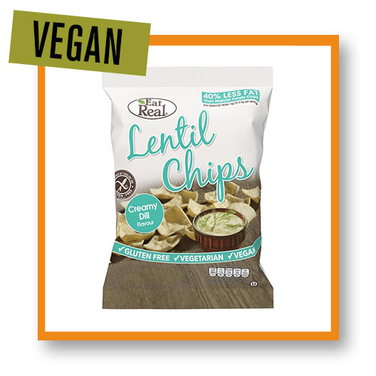 Eat Real Lentil Chips Creamy Dill