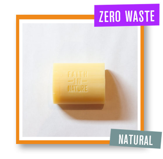 Faith In Nature Orange Loose Soap