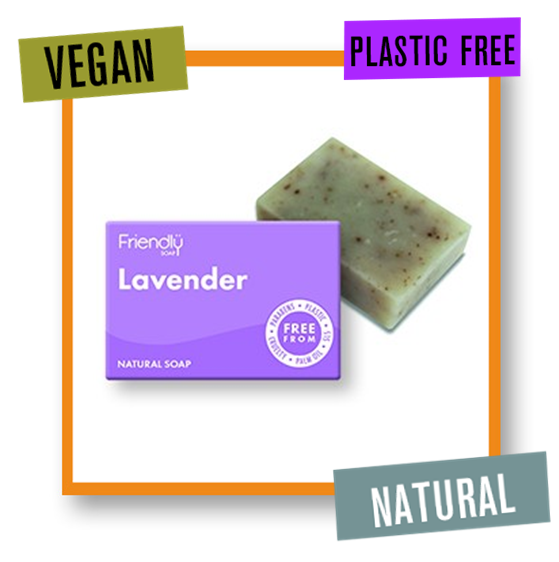 Friendly Soap Indulgent & Relaxing Lavender Bath Soap Bar