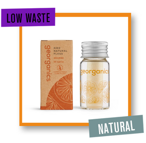 Georganics Orange Dental Floss