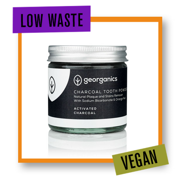 Georganics Teeth Whitening Powder Activated Charcoal