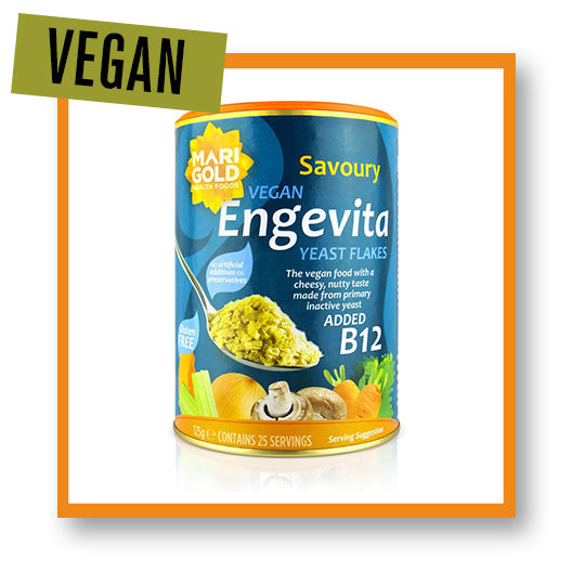 Marigold Engevita Yeast Flakes with Vitamin B12