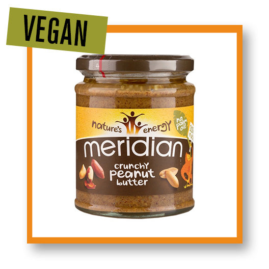 Meridian Peanut Butter Crunchy 100% Peanuts