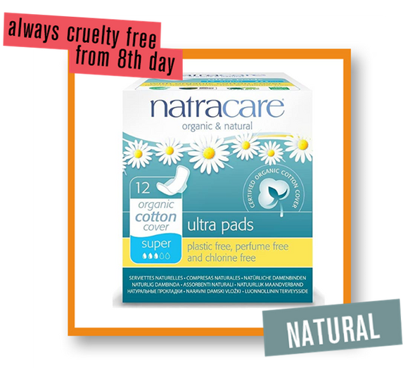 Natracare Organic Super Ultrapad With Wings