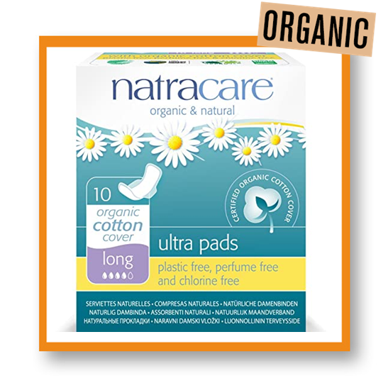 Natracare Organic Long Ultrapad With Wings