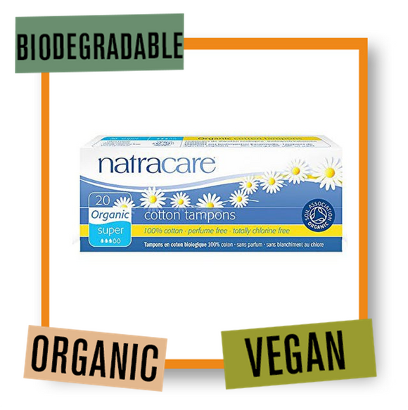 Natracare Organic Super Tampons