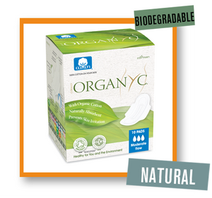 OrganYc Travel Pads Heavy Flow With Wings