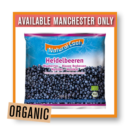 Natural Cool Organic Blueberries