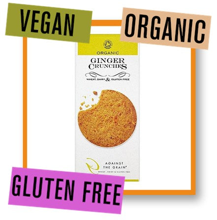 Against the Grain Organic Ginger Crunchies