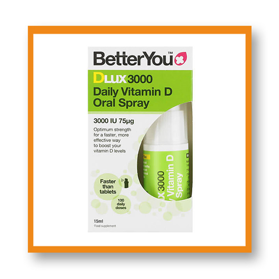 Better You D Lux 3000 Daily Vitamin D Oral Spray 15ml
