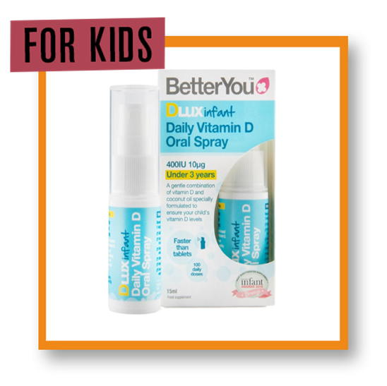 Better You D Lux Infant Daily Vitamin D Oral Spray 15ml