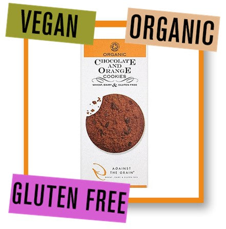 Against the Grain Organic Chocolate and Orange Cookies