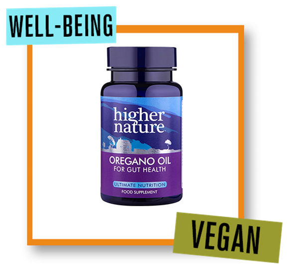 Higher Nature Oregano Oil 50mg