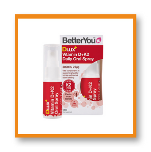 Better You DLux+ Vitamin D+K2 Daily Oral Spray 12ml