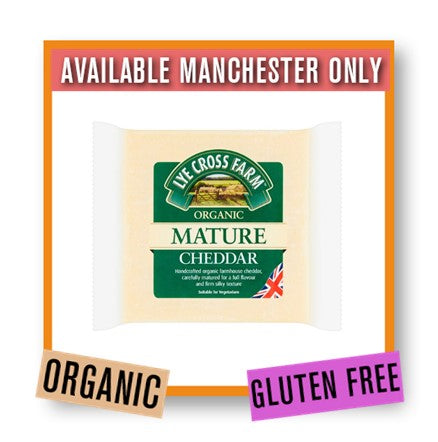 Lye Cross Farm Mature Cheddar Cheese Organic