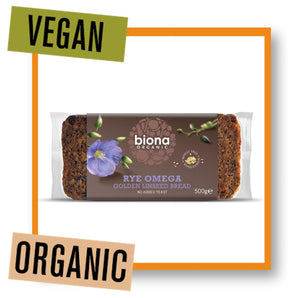 Biona Organic Rye Bread with Golden Linseed