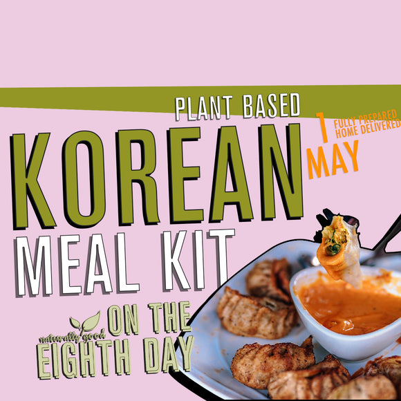 Korean Meal Kit  - 3 courses