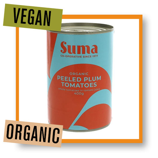 Suma Organic Whole Peeled Tomatoes