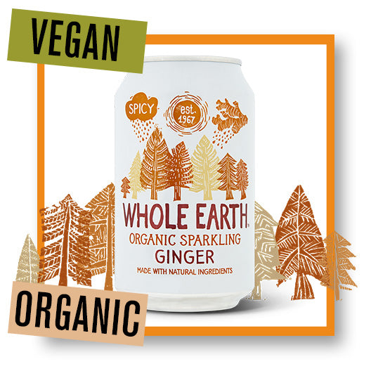 Whole Earth Organic Sparkling Ginger Drink
