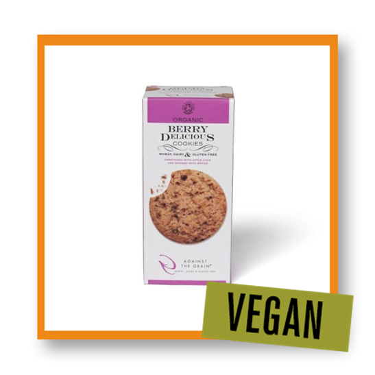 Against the Grain Organic Berry Delicious Cookies