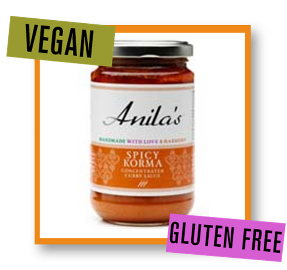 Anila's Spicy Korma Curry Sauce