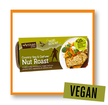 Artisan Grains Cashew & Country Veg Nut Roast Mix