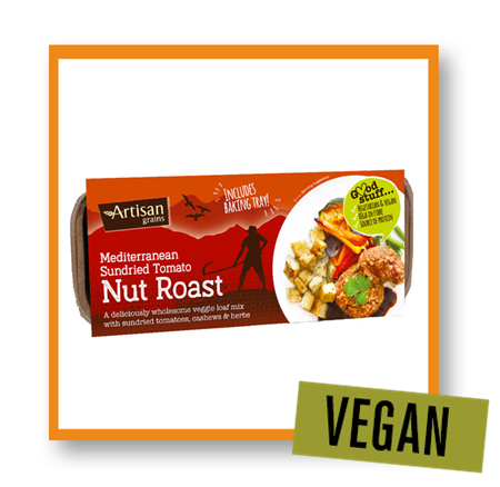 Artisan Grains Mediterranean Sundried Tomato Nut Roast Mix