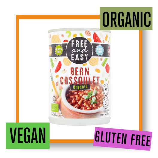 Free & Easy Organic Bean Cassoulet