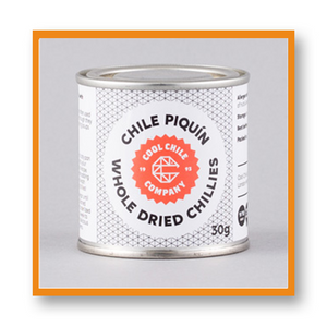 Cool Chile Co Whole Piquin Chillies Tin