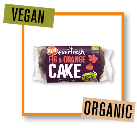 Everfresh Organic FIg & Orange Cake with Sprouted Grains