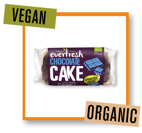 Everfresh Organic Chocolate Cake with Sprouted Grains