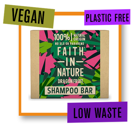 Faith In Nature Shampoo Bar Dragonfruit