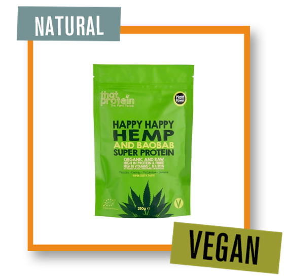 That Protein Happy Happy Hemp and Baobab Super Protein