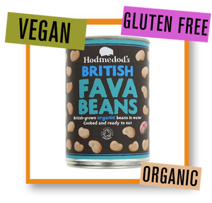 Hodmedod's Whole Organic British Fava Beans Can